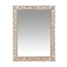 Spiegel mit geschnitztem Mangoholzrahmen 90x120