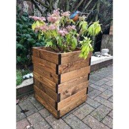 Blumenkübel Latimer aus Holz Freeport Park