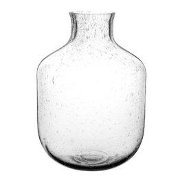 Vase aus Blasenglas H28