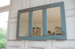 Antiker Zauberhafter Landhaus Wandspiegel Spiegel Amanda Im Shabby Chic 94cm