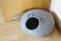 Katze Höhle 34 Farben Möbel Gefilzt Weiße Bett Haus Gefilzte Filz Katzenbett Haustier Liefert Wolle