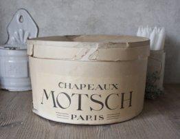 Schöne Alte Hut Box Motsch Paris Aus Karton