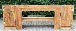 Schrank , Anrichte Badezimmermöbel Bauholz Outdoor