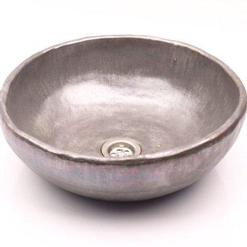 Silber Waschtisch, Einzigartige Waschbecken, Überlappen Ungewöhnlich