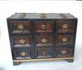 Altes Möbelstück - Möbel Aus Holz/Ablage/Miniatur-Kommode Handhandwerk Kollektion Dekoration