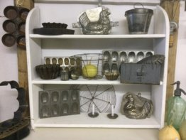 Altes Regal, Wandregal, Frankreich, Shabby, Vintage