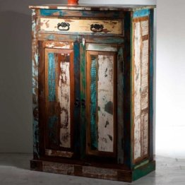 Brotschrank in Shabby Chic Design Vintage