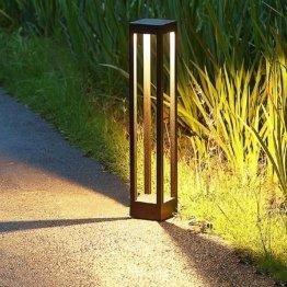 LED Gartenleuchte Wegeleuchte Pollerleuchten 3000K,Extra Helle 9W LED