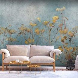 Fototapete selbstklebend Pflanzen 392x280 cm Selbstklebende Tapeten Vintage