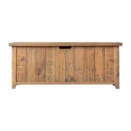 Sitzbank Ashburn mit Stauraum aus Holz
