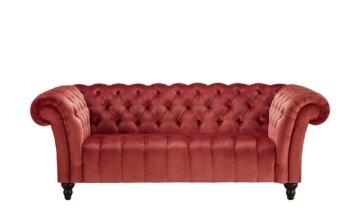 Sofa, 2-sitzig  Canyon ¦ rot Polstermöbel > Sofas > 2-Sitzer - Höffner