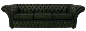 Sofa Granger aus Echtleder